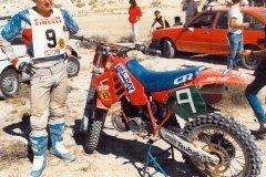 MX HONDA 250 86