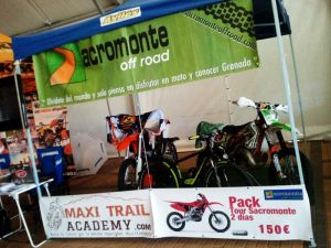 Feria moto event maxitrail academy