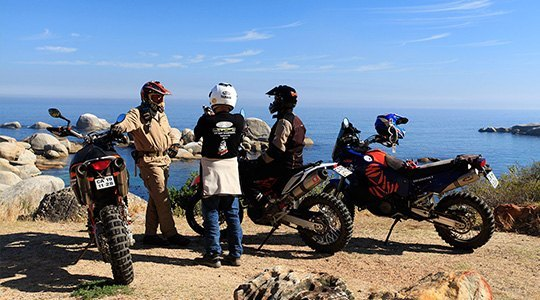ruta moto trail andalucia