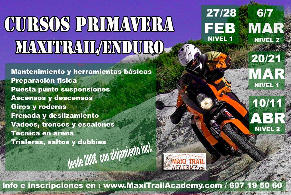 CURSO MAXITRAIL MARZO 21